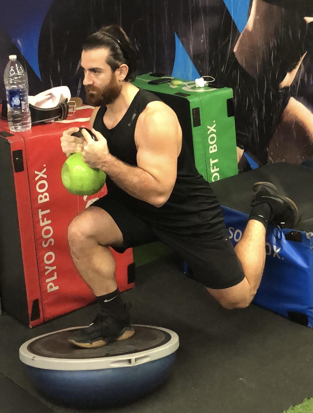 Online Fitness coach via zoom