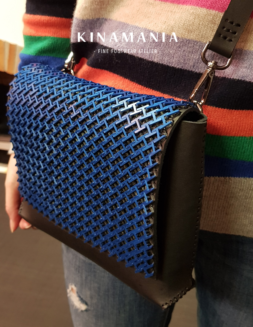 Private: Leathercraft workshop – Chain Mail bag