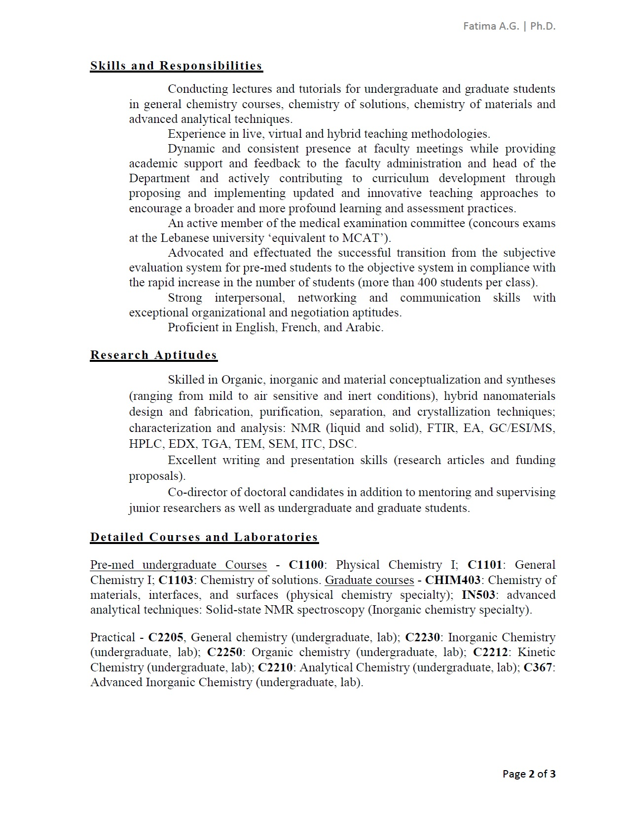 Private: Postdoctoral researcher – synthetic chemist